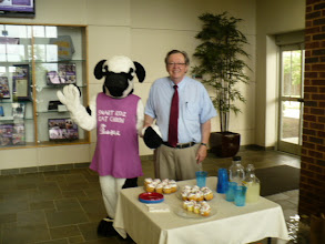 Photo: Michael May w/ Miss Cow