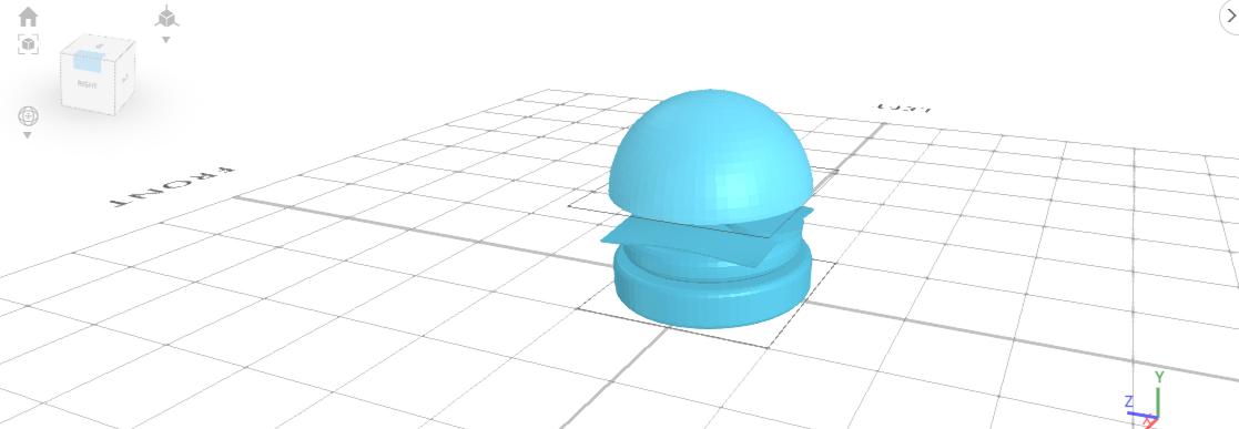 3D designing burger