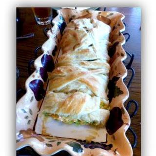 Savory Chicken Strudel Sandwiches.
