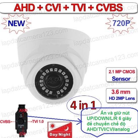 Camera 4 trong 1 camera viper 4in1 d206 - 1m
