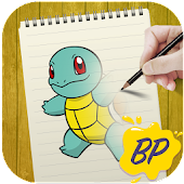 The Boy 👦 Painter ✏️ - How To Draw Pokemon ™️