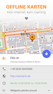 Karten GPS Navigation OsmAnd+ – Miniaturansicht des Screenshots