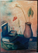 Photo: Stilleben, Pastell, 1958 - verkauft/Dallas