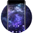 Fantasy/sci-fi theme wallpaper galaxy stars icon