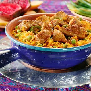 Rice with Pork.