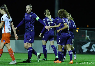 Anderlecht pakt 30 op 30 in Super League na nieuwe klinkende overwinning