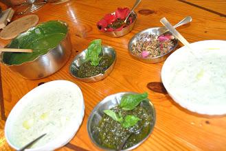 Photo: tante salsine fatte dai bambini