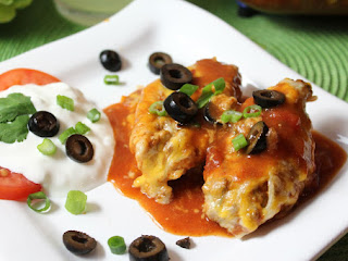 Easy Cheesy Mexican Stuffed Shells Recipe