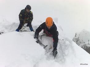 Photo: sa mi zdalo viac hrabania ako lezenia....