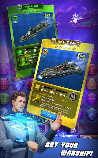 Battleship & Puzzles: Warship Empire 1.27.0 screenshots 3