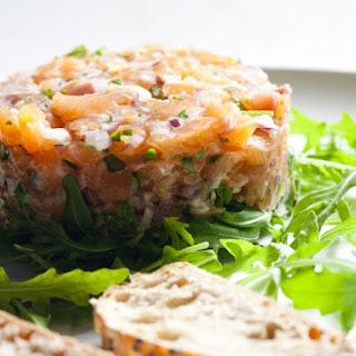 Lomi Lomi Salmon Tartare Recipe