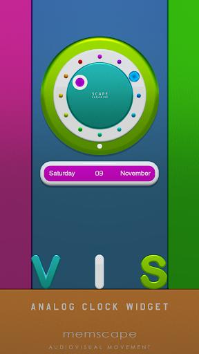 PC u7528 VIS Analog Clock Widget 1