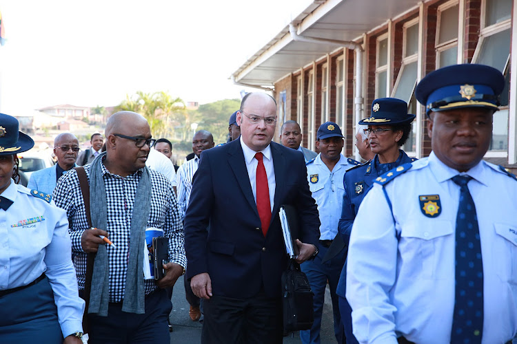 Parliament Portfolio Committee on Police Chairperson Francois Beukman has expressed his concern about the increasing murder rate in South Africa.