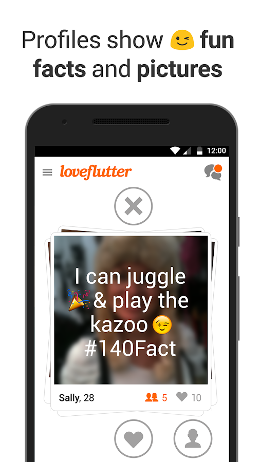Loveflutter- screenshot