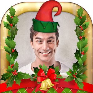 Elf Your Face Photo Booth: Make Yourself Elf & Santa For