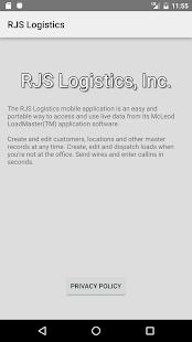 RJS Logistics for PC-Windows 7,8,10 and Mac apk screenshot 2