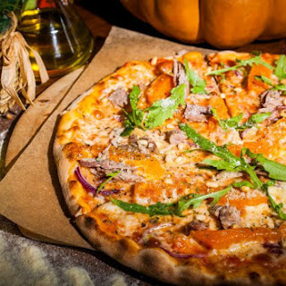 Duck and Pumpkin Pizza