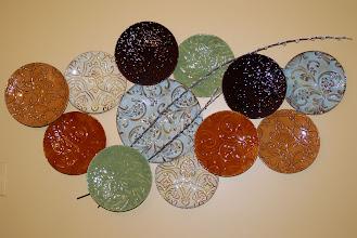 Photo: 7 ... Plates ... on Robbins Wall