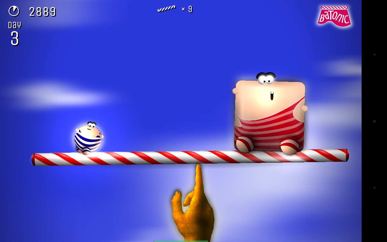 Batonic: A Game of Balance- screenshot