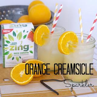 Orange Creamsicle Sparkler