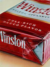"""Photo: """"Winston rouge"""", 1976, peinture acrylique sur toile"""