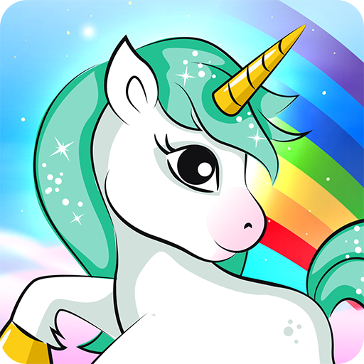 Kids puzzle for preschool fun - Unicorn 🦄 Icon