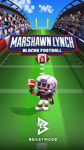 Marshawn Lynch Blocky Football 2