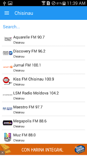 Radio Moldova FM Music
