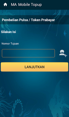 Cara Transaksi Jualan Isi Pulsa Elektrik Murah Online Lewat Aplikasi MA Mobile Top Up Market Pulsa