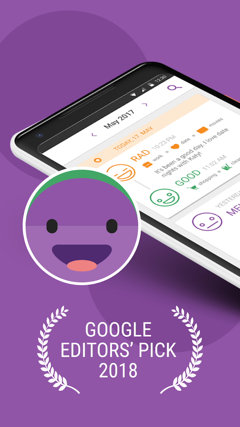 Daylio - Diary, Journal, Mood Tracker APK Cracked Free