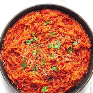 Marinara Spaghetti Squash.