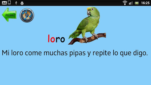 Learn to read in Spanish screenshot 3