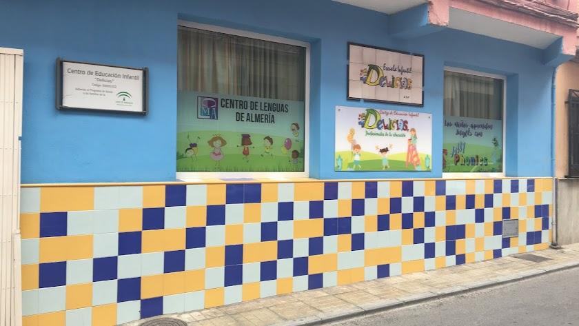 Escuela Infantil Delicias en el Barrio de Los Molinos, centro adherido al Programa de Ayudas a Familias.