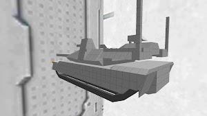 90式戦車g型(未塗装)