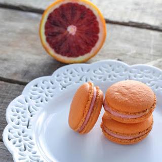 Blood Orange French Macarons