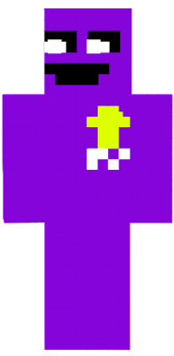 The sprite of the serial killer William Afton (moastly recognised as Purple Guy) from the FNaF series.