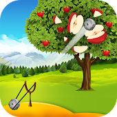 Apple Shooter : Slingshot Catapult Shooting Games