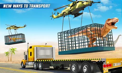 Angry Dino Zoo Transport: Animal Transport Truck 27 screenshots 2