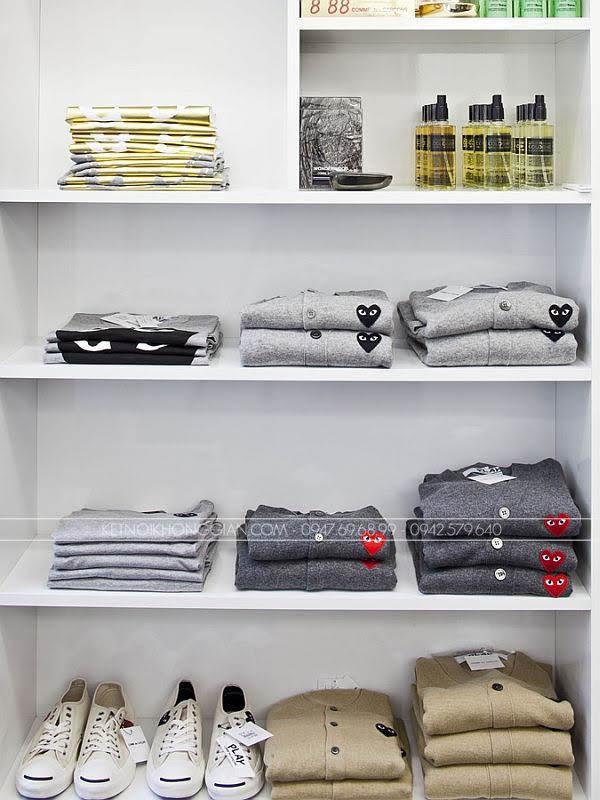 Thiết kế shop thời trang nam black 4