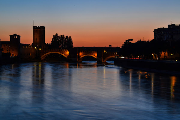 Verona al calar della sera di paolo_ross