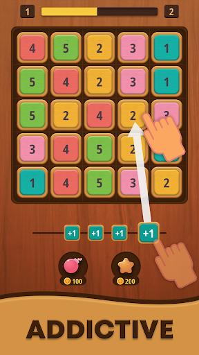 Mergezilla - Number Puzzle apktram screenshots 2