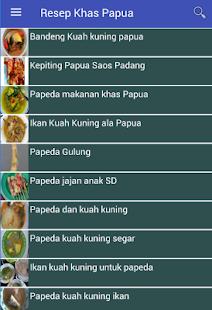 Resep Masakan Khas Papua - náhled