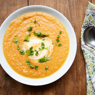 Moroccan Carrot and Cauliflower Soup Recipe