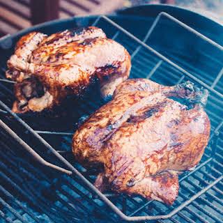 Sweet, Smokey Glazed Chicken.