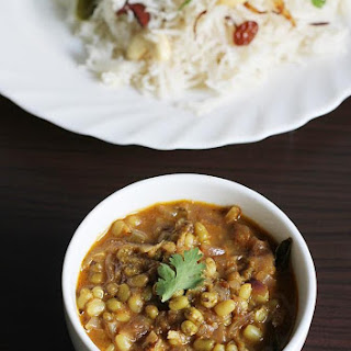 Green Moong Dal Recipe Or Green Gram Curry
