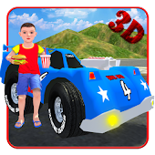 Kids Toy Car Game Simulator 3D