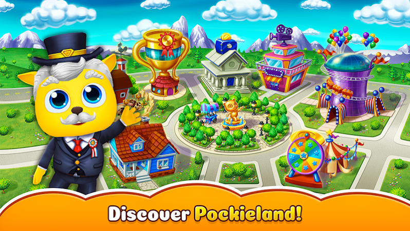 Pockieland – Animal Society v0.12.6 (Mod Money)