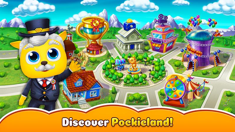 Pockieland – Animal Society v0.12.6 (Mod Money)