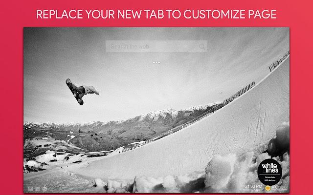 Snowboarding Wallpaper Hd Custom New Tab