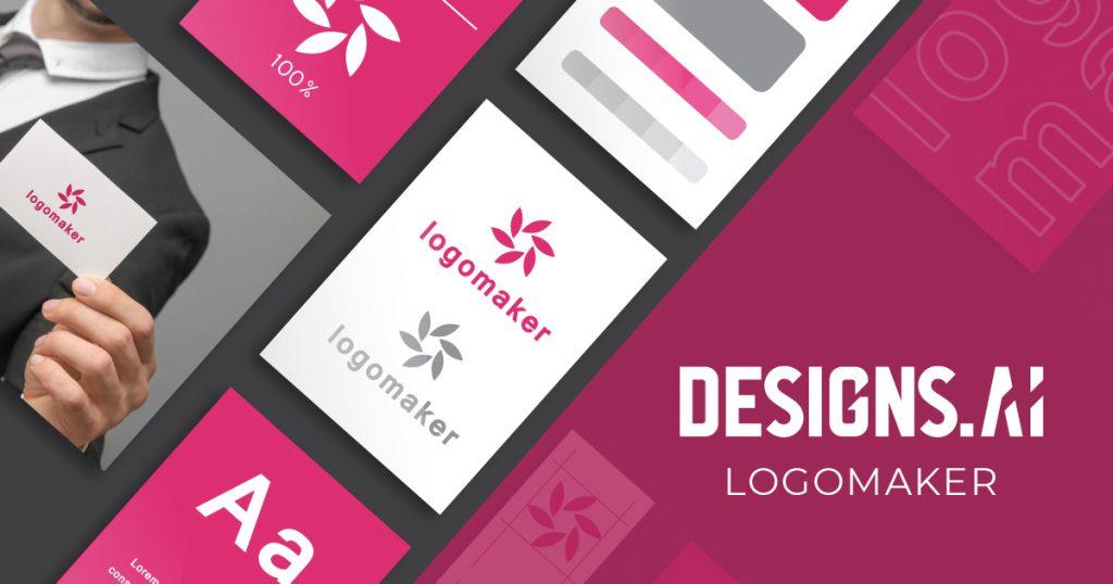 créateur de logo, designs.ai, image de marque
